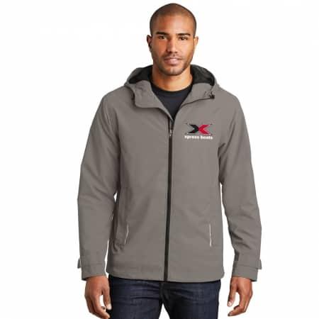 Rain Slicker Jacket - Northern Grey