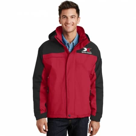 Port Authority J792 Jacket Red/Blk
