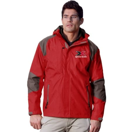 9200 Slalom Jacket Red/Charcoal