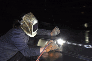 Xpress Boats Handcrafted Welding