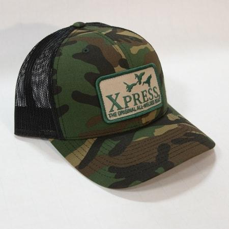 Xpress duck patch-camo & black