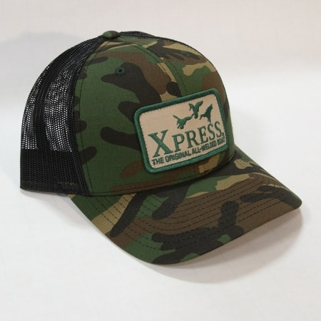 Xpress duck patch-camo & black