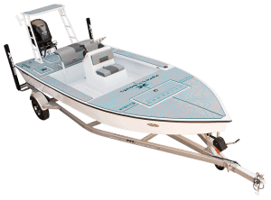Skiff185 on trailer