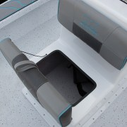 Skiff185 Jump Seat Storage