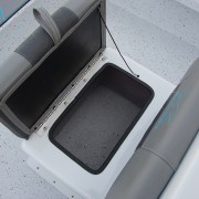 Skiff185 Console Front Seat Storage